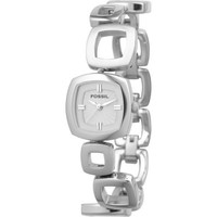Fossil Fosil Ladies 3-Hand Stainless Steel Dress Watch