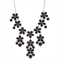 Stony Jewelry Juniors Floral Frontal Bubble Necklace at Von Maur