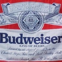 Budweiser King of Beer Flag, 3 x 5 foot