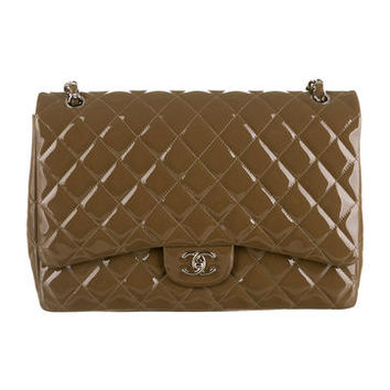 Chanel Classic Quilted Maxi 2.55 Double Flap Bag