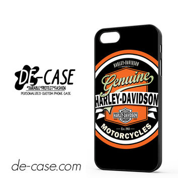 Harley Davidson Vintage DEAL-5056 Apple Phonecase Cover For Iphone 5 / Iphone 5S