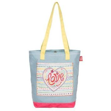 """I Love You And You Are Mine"" (Isaiah 43:1-4) Tote Bag"