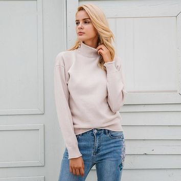 Cynthia Turtleneck Pullover Sweater