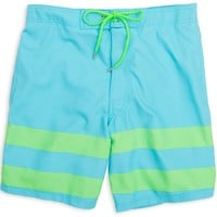 Hang Ten Swim Trunks in Turquoise Blue by Southern Tide
