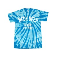 Generic Pop Punk Twist Tie Dye : HLR0 : Neck Deep