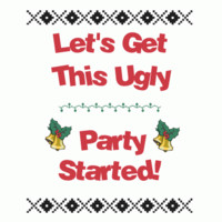 Start the Ugly Party: Red Heart Designs