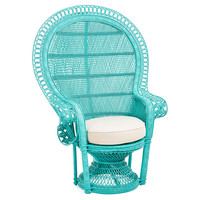 Peacock Chair, Turquoise, Accent & Occasional Chairs