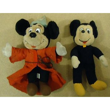 Disney Mickey Mouse Dolls Qty 2 Great Deal
