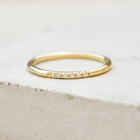 Petite Stacking Ring - Gold