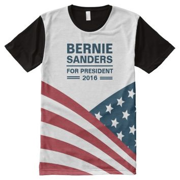 Bernie Sanders for President 2016 All Over Print Shirt
