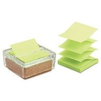 Glass & Cork Pop-Up Note Dispenser Clear With 50-Sheet Greener Note Pad:Amazon:Everything Else