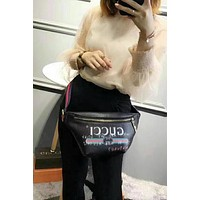 Gucci Women Leather Waist bag Shoulder Bag Crossbody