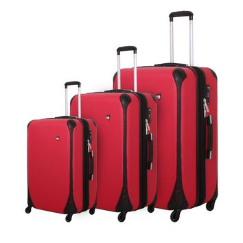 Carriera Hard Side Spinner Luggage 3PC Set