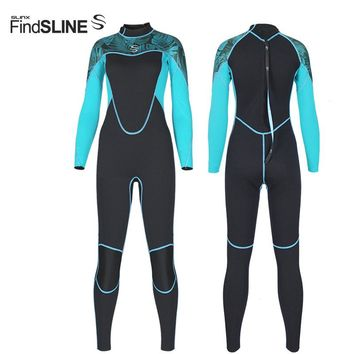 Slinx 2018 women's full wetsuit 2mm neoprene super-elastic Slim for scuba diving wet suit