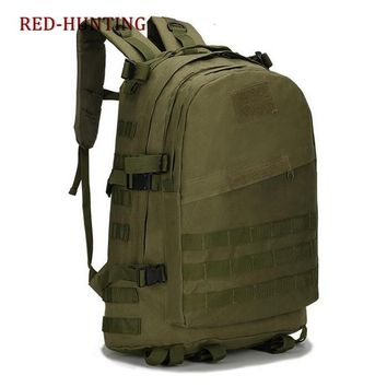 Tactical Backpack 3 Day Military Rucksack Bug Out Bag 40L Large 600D Nylon Molle Gear Army Assault Combat Pack for Sport Outdoor