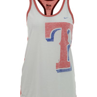 Nike Women's Texas Rangers Loose Dri-FIT Tank Top