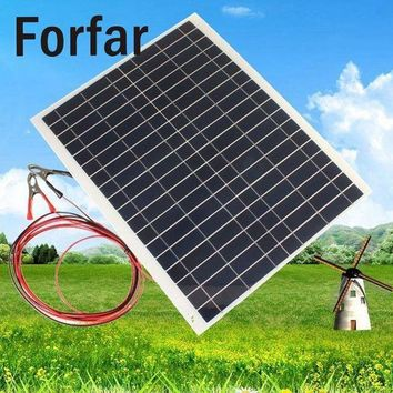 ICIK7N3 Outdoor 20W 12V Battery Charger High Efficiency Photovoltaic Foldable Waterproof Solar Panel Outdoor Camping Hiking Travel Tool