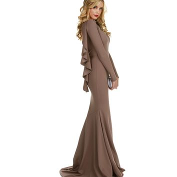 Rosie-brown Formal Dress