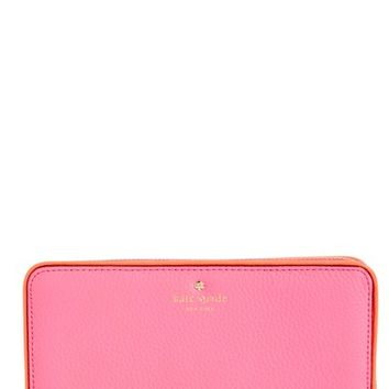 kate spade new york 'cobble hill - lacey' zip around wallet | Nordstrom