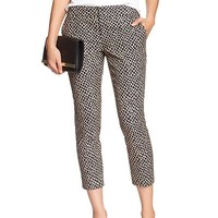 Banana Republic Womens Factory Hampton Fit Piqué Crop