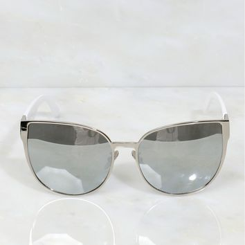 Little Monster Sunnies White