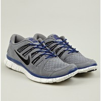 Nike Free 5.0 Grey EXT Woven Sneakers