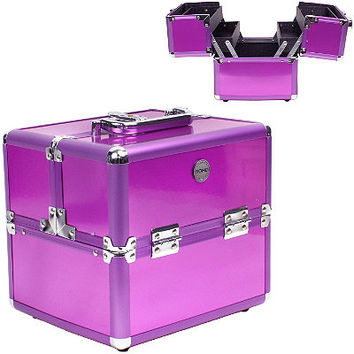 Soho Eye Pop Train Case Purple Ulta.com - Cosmetics, Fragrance, Salon and Beauty Gifts
