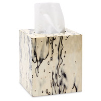 Natural Bird Eye Veneer Tissue Box, Tissue Box Covers