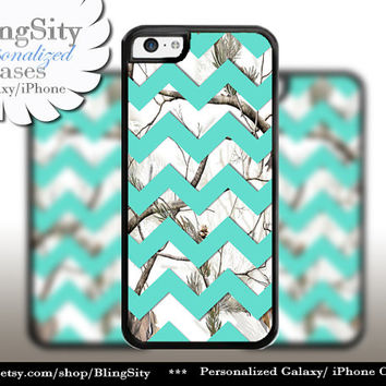 Monogram iPhone 5C 6 6 Plus Case White Snow Camo Mint Chevron iPhone 5s 4 case Ipod Real Tree Personalized Country Inspired Girl