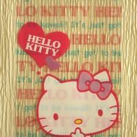 20 Clear Poly / Cello Gift Bags  Hello Kitty by by CharmTape