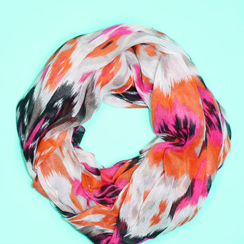 Love Out Loud Scarf - FUSCHIA