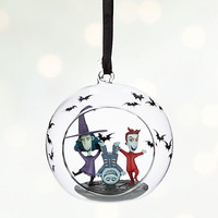 Lock, Shock, & Barrel Glass Globe Sketchbook Ornament - Personalizable | Disney Store