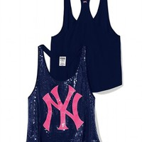 New York Yankees Bling Racerback Tank