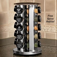 Filled Spice Rack - Fresh Finds - Kitchen > Food Prep