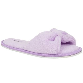 Purple Fashion Women's Girl's Lady Home Cozy Slide Slipper indoor Shoes