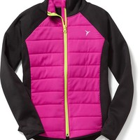 Old Navy Go Warm Quilted Jacket For Girls