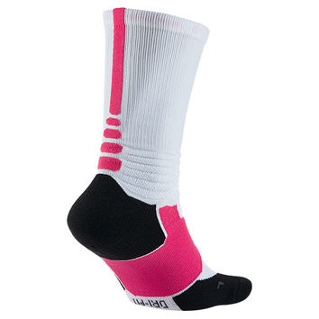 Nike Hyper Elite Kay Yow Basketball Crew Socks