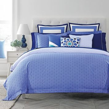Happy Chic by Jonathan Adler Zoe 3-pc. Reversible Duvet Cover Set (Blue)