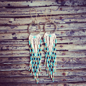 Tribal Earrings, Native American Inspired Jewelry