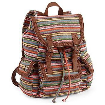 Olsenboye- Stripe Backpack : handbags : handbags + accessories : jcpenney