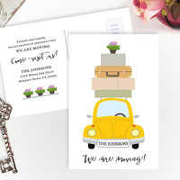 Personalized housewarming gifts | Change of address cards | New home gift