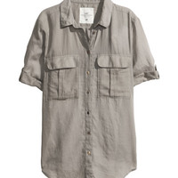 Short-sleeved Shirt - from H&M