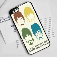 Beatles (color silhouettes) iPhone Case