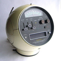 Space Age Mod Weltron 8 Track Player and AM FM by SweetLoveVintage