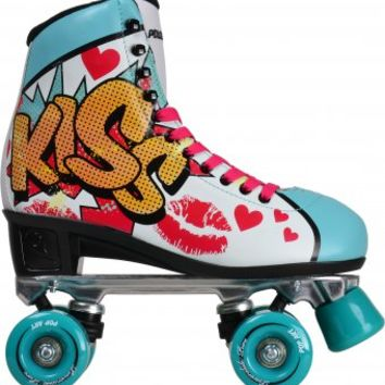 Powerslide Pop Art Kiss Quad Inline