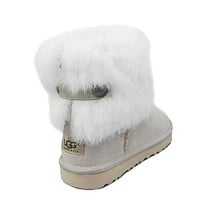 UGG Women Fashion Fur Short Boots Snow Boots Shoes
