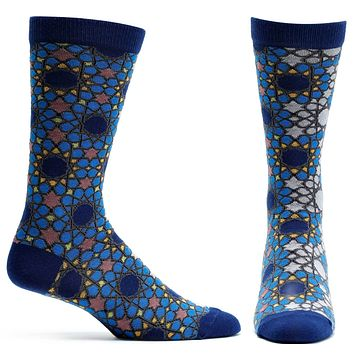 Jeweled Tessellation Sock
