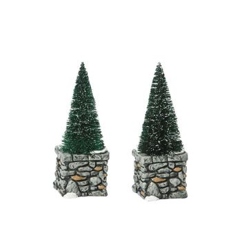 Department 56 Accessories for Villages Limestone Topiaries Accessory Figurine (Set of 2)
