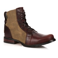 World Traveler Men's Wide-Width Ankle Boots