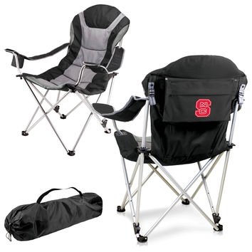 Reclining Camp Chair - NC State Wolfpack